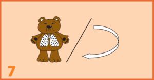 AeroChamber Plus Flow-Vu Anwendung für Kinder - Schritt 7