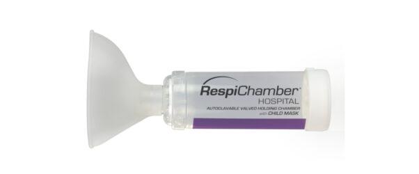 Produktabbilung von RespiChamber mit Kindermaske