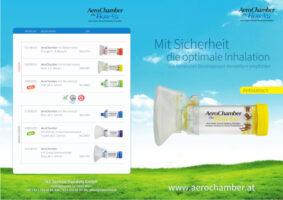 Broschüre für den AeroChamber PLUS Flow-Fu