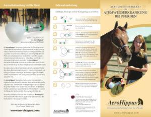 Abbildung der AeroHippus Broschüre
