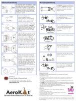 AeroKat Gebrauchsanweisung